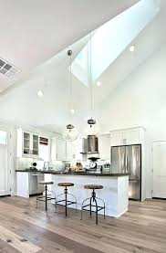 track lighting sloped ceiling. Pendant Lights For Vaulted Ceilings Surprising Lighting Ceiling White Kitchen Home Design 10 Track Sloped