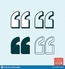Quotes Citation Comma Sign Quotation Double Commas Mark