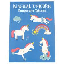 Sada 2 Listů Dočasného Tetování Rex London Magical Unicorn