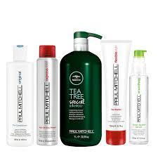 hair care bottles