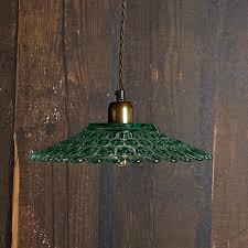 green glass pendant lighting. Eider Pendant Light In Recycled Green Glass Lighting N
