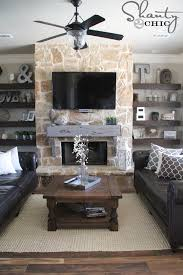 how to build and hang a mantel