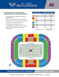 Saint Louis Seating Chart St Louis Battlehawks Reveal Season Ticket Pricing And Perks