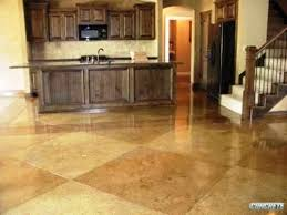 decorative concrete floors residential. stained concrete - kitchen decorative floors residential c