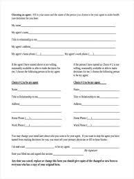 Sample Do Not Resuscitate Form Advance Medical Directives Maine Health Care Directiveormsormree 8