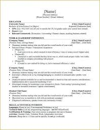 Graduate School Resume Sample Nfcnbarroom Com