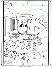 John Deere Combine Coloring Page Throughout Pages With - glum.me