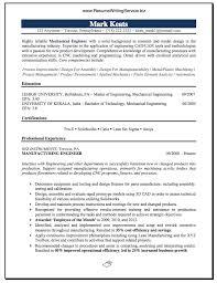 Mechanical Engineer Resume Sample Career Education Pinterest