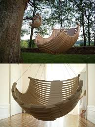 outdoor hanging furniture. Concept Suspendu Collage Limited Edition Hanging Chair. 4. Outdoor Hanging Furniture