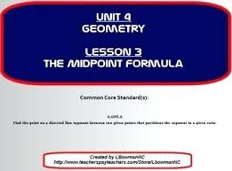 Endpoint Formula How To Find The Endpoint Math The Midpoint Formula Find