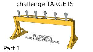 challenge targets diy auto reset popper plates part 1 building the stand you