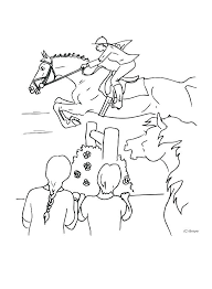 Breyer Colouring Pages Coloring Horse Riding Free Animals Cute
