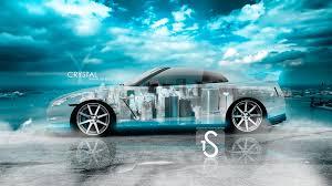 nissan gtr r35 crystal sky city car