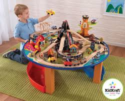 Train Set Table With Drawers New Dinosaur Train Set And Table Trains Sets Train Tables