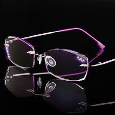 Anti Blue ray Reading <b>glasses Trimming Cutting Lenses</b> for Women ...