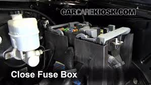 replace a fuse cadillac escalade cadillac 6 replace cover secure the cover and test component