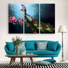 Peacock Living Room Decor Online Get Cheap Peacock Paintings Aliexpresscom Alibaba Group