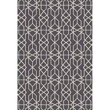 oriental weavers of america leland dark gray indoor outdoor oriental area rug common