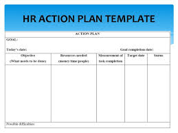 hrm and administration masterclass hr action planning 13
