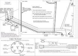wiring diagrams trailer wiring harness diagram 5 wire trailer 4 wire trailer wiring at Rv Trailer Wiring Harness
