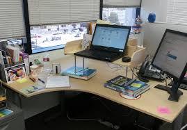 DIY standing desk setup