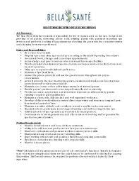 Hotel Front Desk Job Description Resume Awesome Front Desk Position