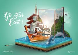 Travel Ads Tania Travel Print Advert By Idigital Pulse Orient Ads Of The World