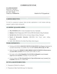 Manufacturing Resume Examples Stunning Cost Accountant Resume Manufacturing Cost Accountant Resume Sample
