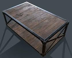 industrial style coffee table industrial style coffee table industrial looking coffee