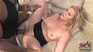 MILF Ginger Lynn spreads her legs for a big black cock PornDoe