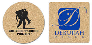 Custom cork coasters Corkboard 35 Kardwell Custom Cork Coasters 35 In And In Round And In Square