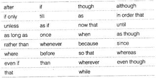Cbse Class 8 English Grammar Conjunction Cbse Tuts