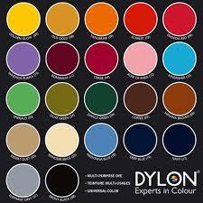 Dylon Dye Colour Chart Dypro Dylon Textilfarbe Universal Color 10g