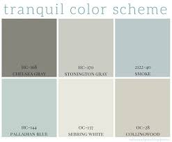 relaxing paint colorsTranquil Color Scheme  Calming colors Benjamin moore and Bedrooms