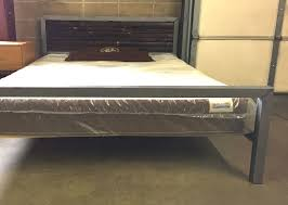 unique industrial modern steel bed kb furnishings  modern