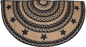 best half circular rugs round area fresh texas circle art deco carved small memory foam rug rustic dining room cabin deer s spanish style big lots