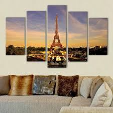 Small Picture 2017 Eiffel Tower Painting Home Decor Art Picture Print On Canvas