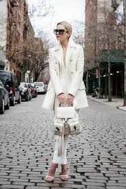 coat winter white outfit