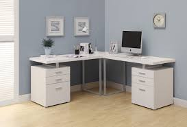 shaped computer desk home office. Computer Desk - White L Shaped Corner Home Office
