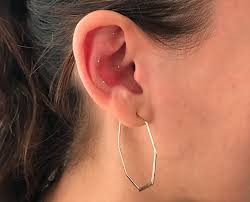 Ear Piercing Chart For Anxiety Auricular Acupuncture Whats The Deal With Those Tiny Gold