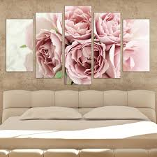 canvas bedroom decoration wall art decoration with pink roses on pink rose canvas wall art with canvas bedroom decoration wall art decoration with pink roses