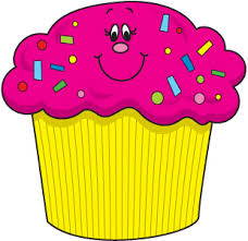 Image result for birthday cupcakes clipart