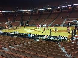Frank Erwin Center Section 21 Texas Basketball