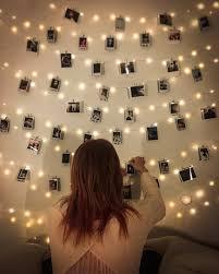 dorm fairy lights wall decor bedroom