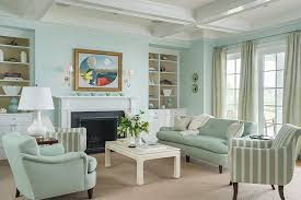 traditional interior in mint color