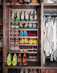 slanted shoe rack