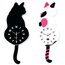 chaney wall clock wall clock cat wall clock cat wall clock creative cat wall clock simple chaney wall clock
