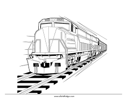Small Picture sun is smiling over a train coloring page color luna thomas the