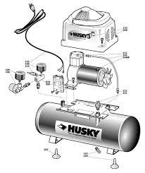 husky pro 60 gallon air compressor wiring wiring solutions Puma Air Compressor Wiring Diagram husky air compressor wiring diagram diy diagrams