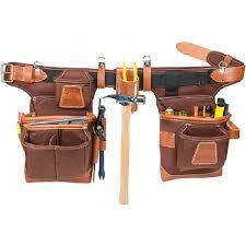 occidental leather 9855 adjust to fit fatlip tool bag set cafe
